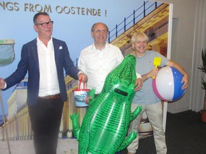 VIDEO Herman 'Marcske' Verbruggen opent expo 3D World in Kursaal Oostende