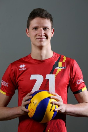 Mathieu Vanneste naar EK volley U20 in Nederland