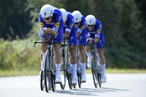 Quick-Step Floors mikt in ploegentijdrit op medaille